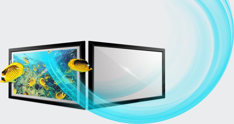 viena-header Miralay televisión espejo. Televisión integrada en espejo