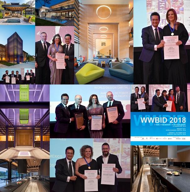 wwbid 2018. Bienal Iberoamericana Cidi de interiorismo, diseño y paisajismo WWBID 2018 interior design and landscape